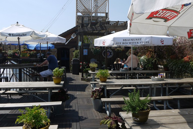 Gene's rooftop bar