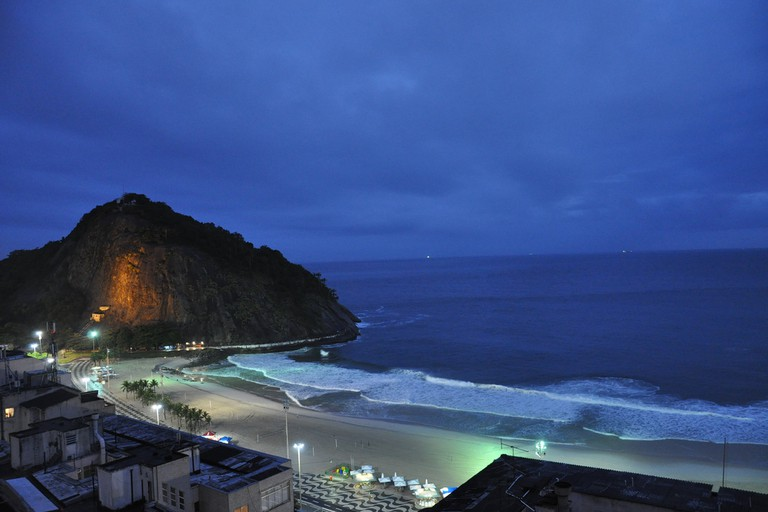 View from Morro de Leme
