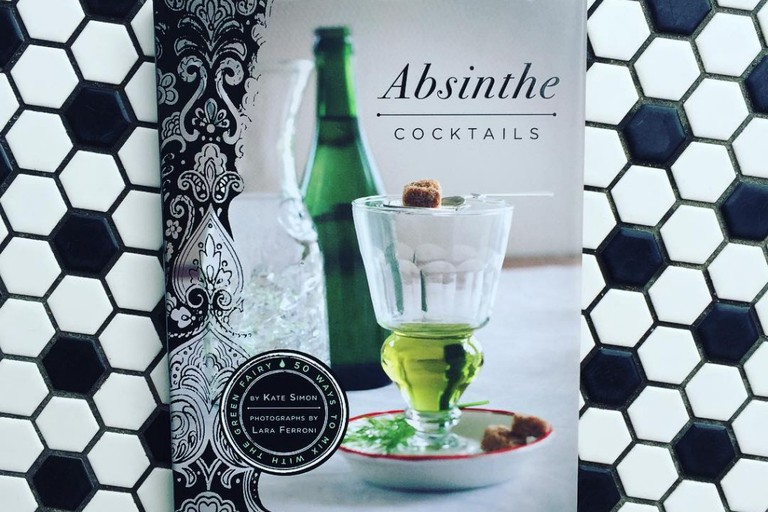 BYOB is home to many absinthe-inspired books, tools and accessories