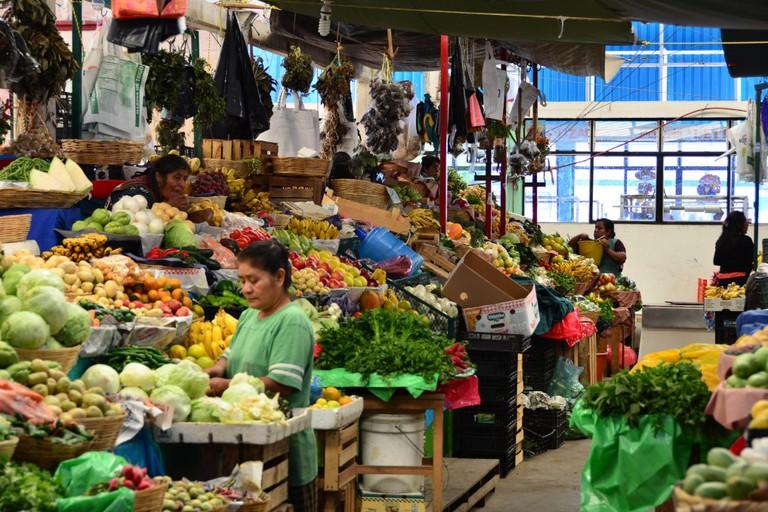 Oaxacan market