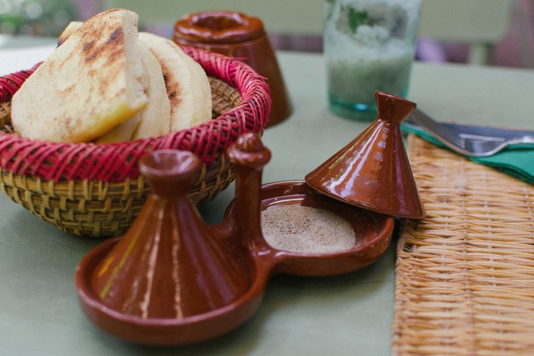A warming one-pot with a Moroccan feel