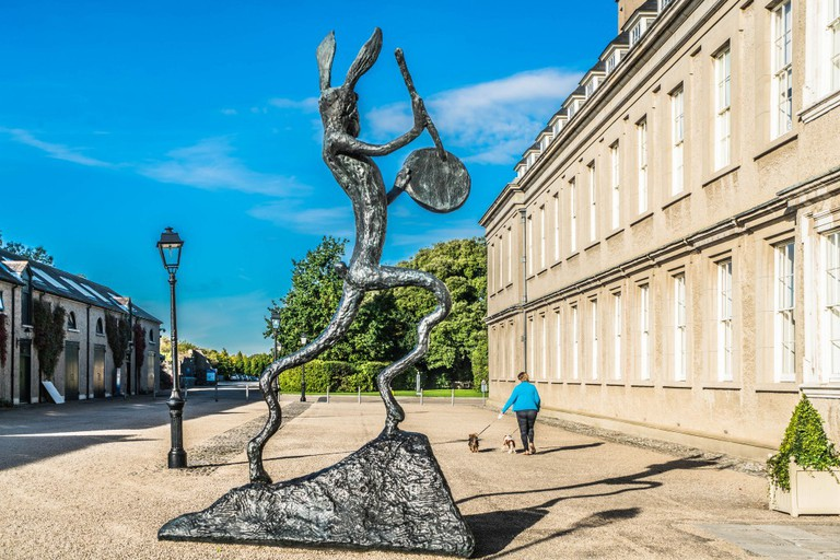 'The Drummer' by Barry Flanagan at IMMA