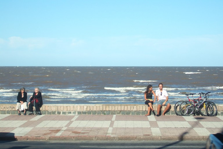 Montevideo's Rambla is one of the city's favorite places