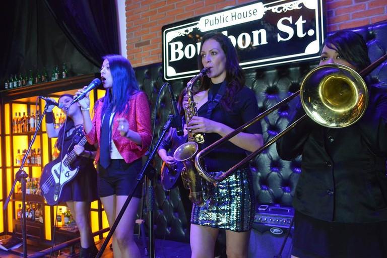 Bourbon St.
