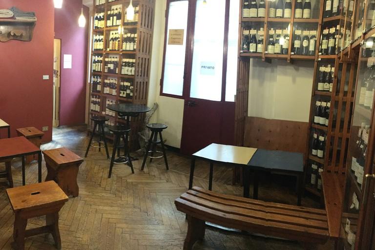 Cosy vibes at Vinarium Enoteca, Turin | Courtesy Vinarium Enoteca