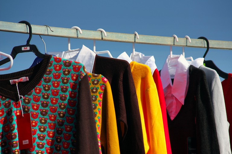 Buy good-as-new clothing at bargain prices at Marbella's markets and thrift stores