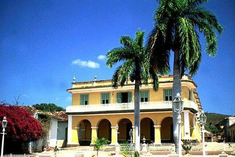 Palacio Brunet, home of the Museo Romantico, in Trinidad, Cuba