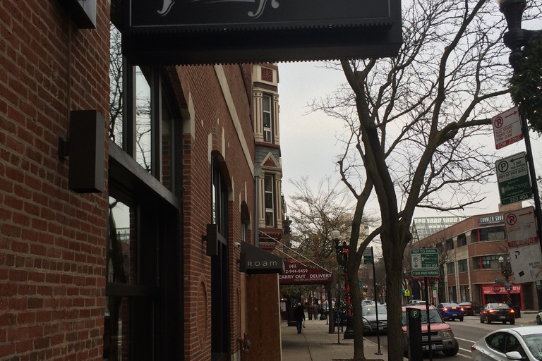 Outside of Old Town Pour House