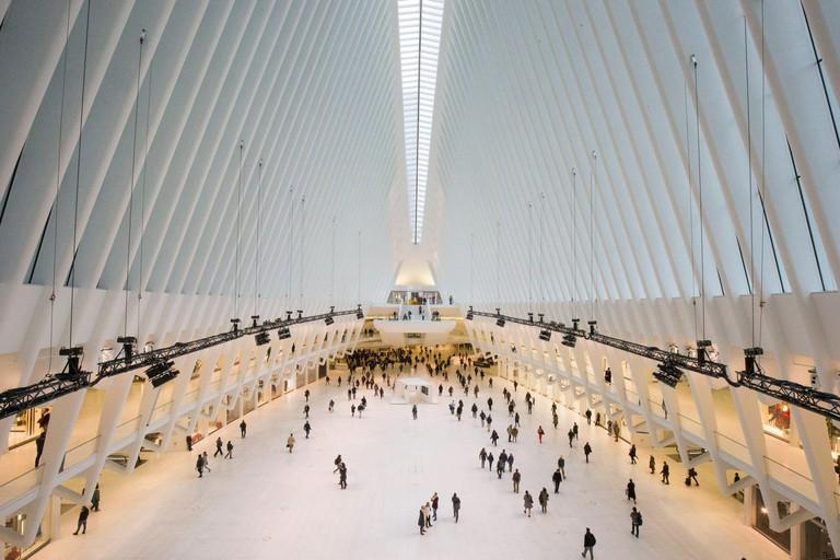WORLD TRADE CENTER STATION, OCULUS NEW YORK