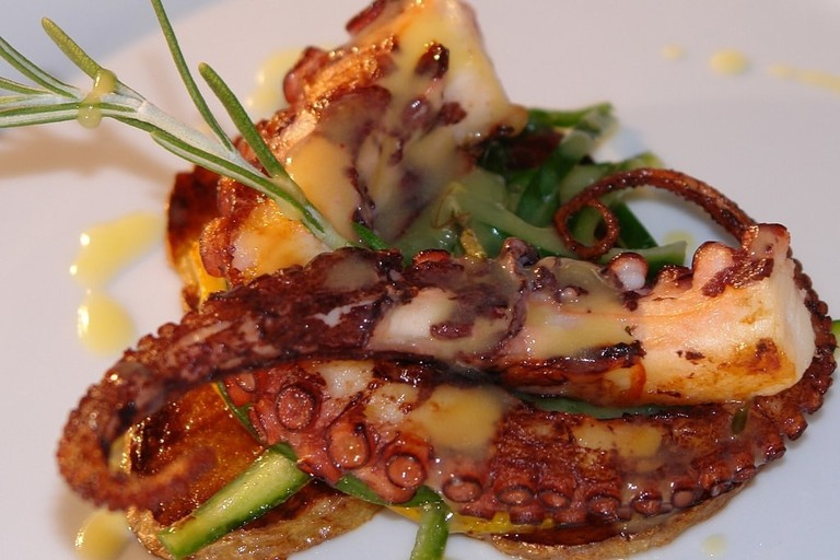 Mouthwatering grilled octopus | © designermikele / Pixabay