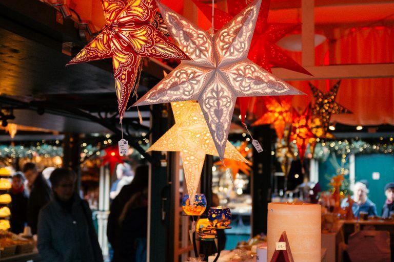 Enjoy the festive atmosphere ofChristmas market shopping