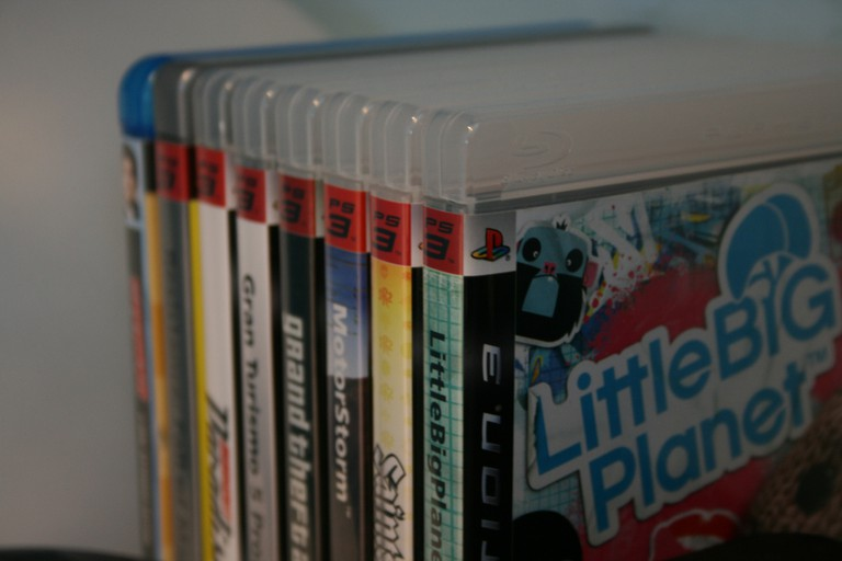 Games for the Play Station 3