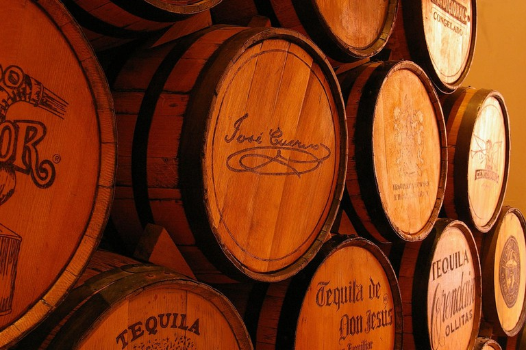 Jose Cuervo cellar collection