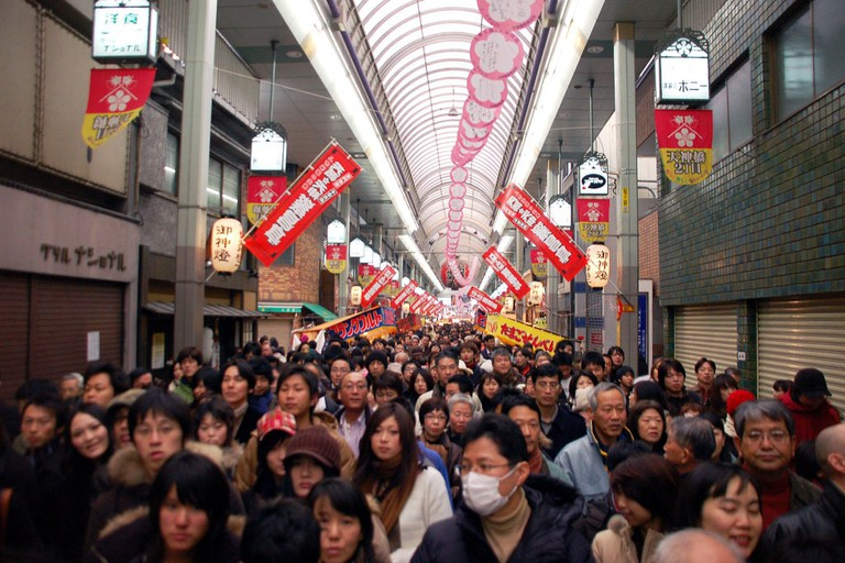 tenjinbashisuji_shotengai_shopping_street