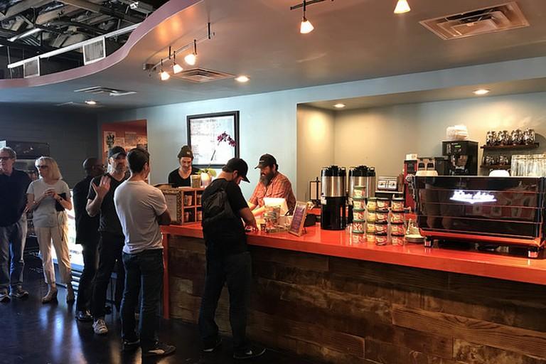 Bennu Coffee specializes in mocha