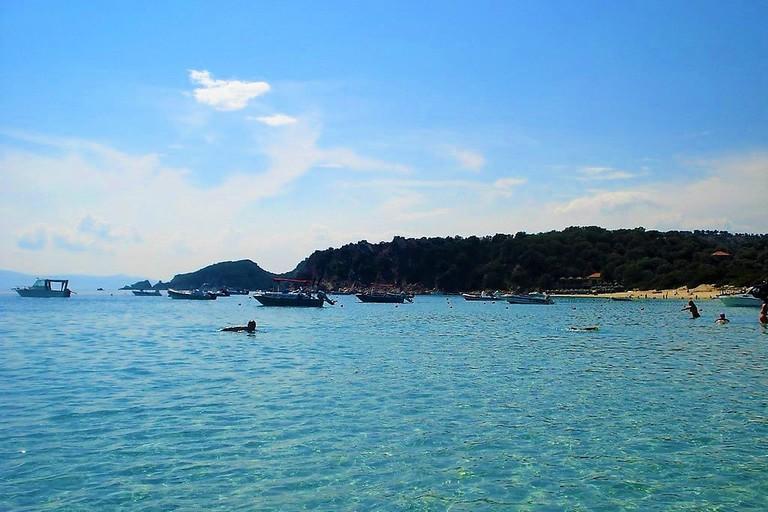 Alykes beach, Ammouliani