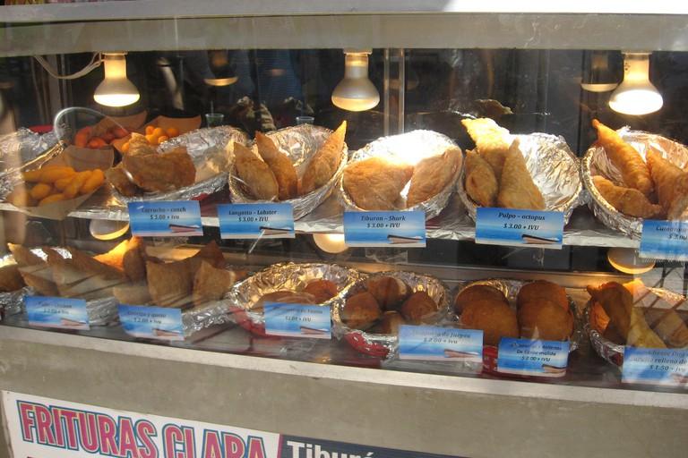 Street food at La Parguera