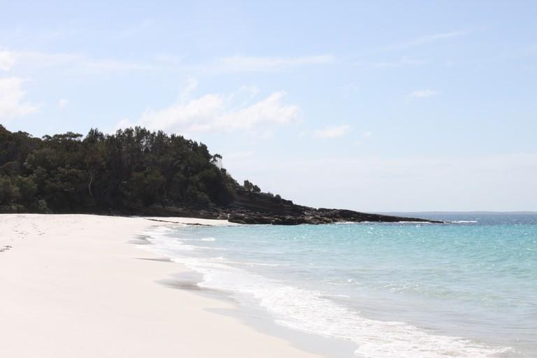 Whitest sand in the world
