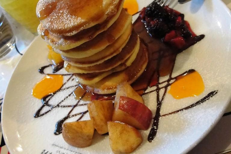 Moomin Café pancakes