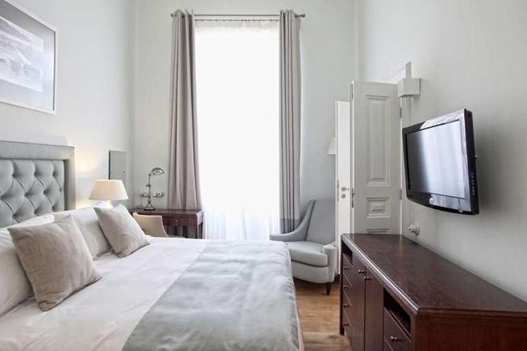 Guestroom at the Armata Boutique Hotel