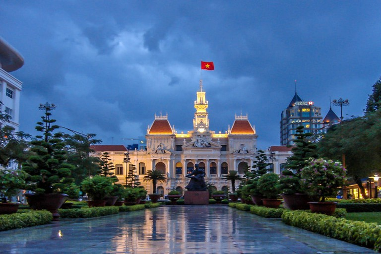 City Hall and Nguyen Hue