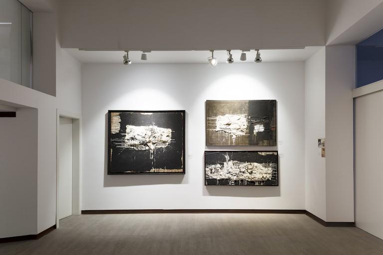 Millares at Galería Mayoral