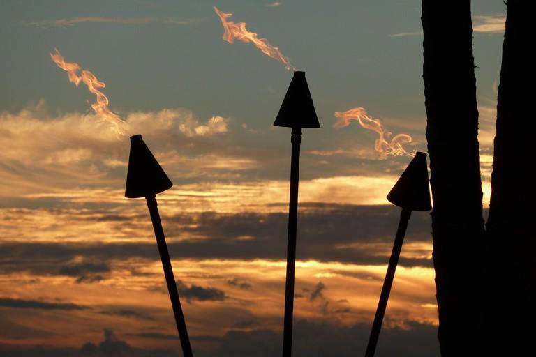 Tiki Torches | © Fuzzy Gerdes/Flickr