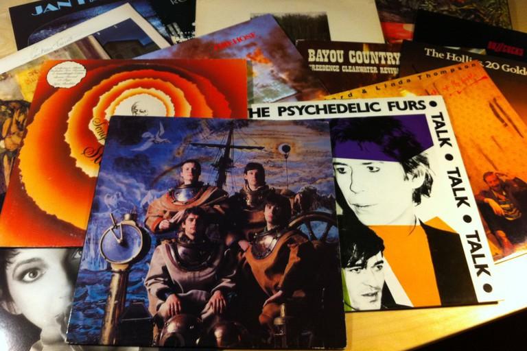 Yep, more vinyl