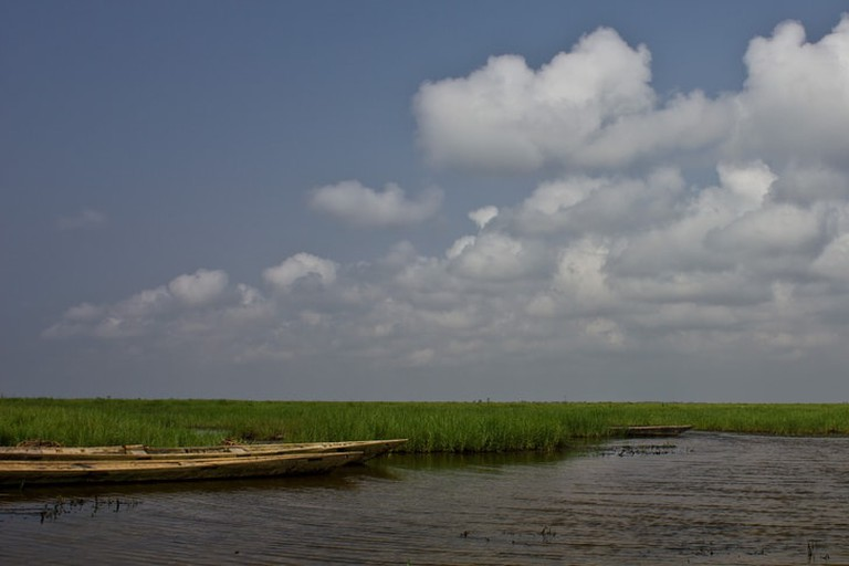 Clouds Over Keta Lagoon