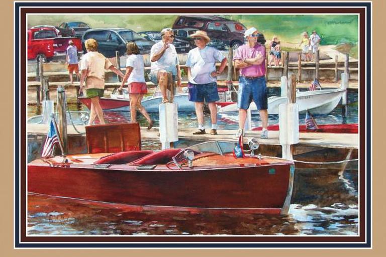 Work, Wood, Water and Conversation by Anita K Plucker