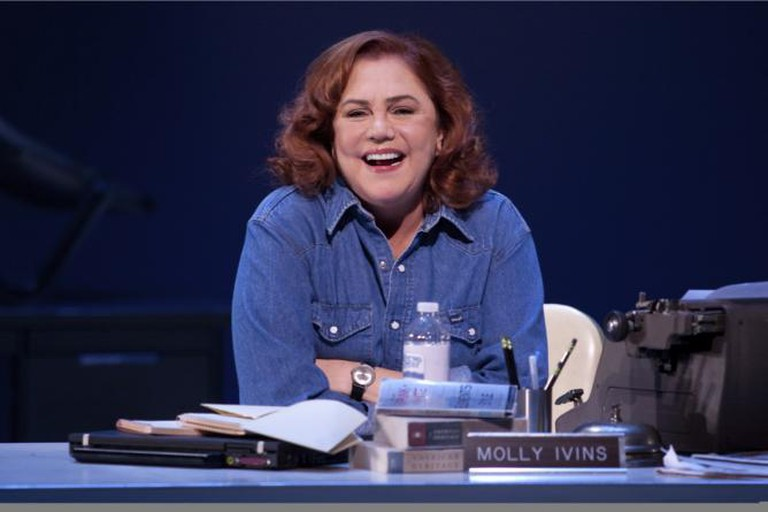 Two-time Tony and Academy Award nominee Kathleen Turner makes her Berkeley Rep debut as a sharp-witted political journalist in Red Hot Patriot: The Kick-Ass Wit of Molly Ivins.