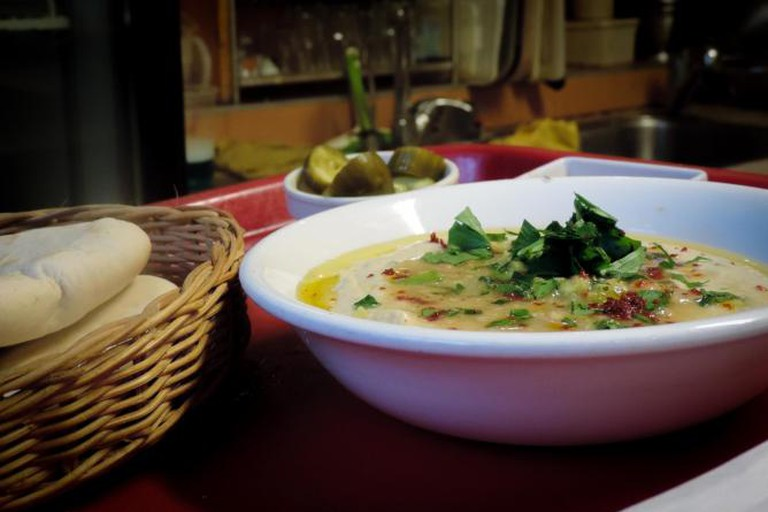 Hummus at Akramawi