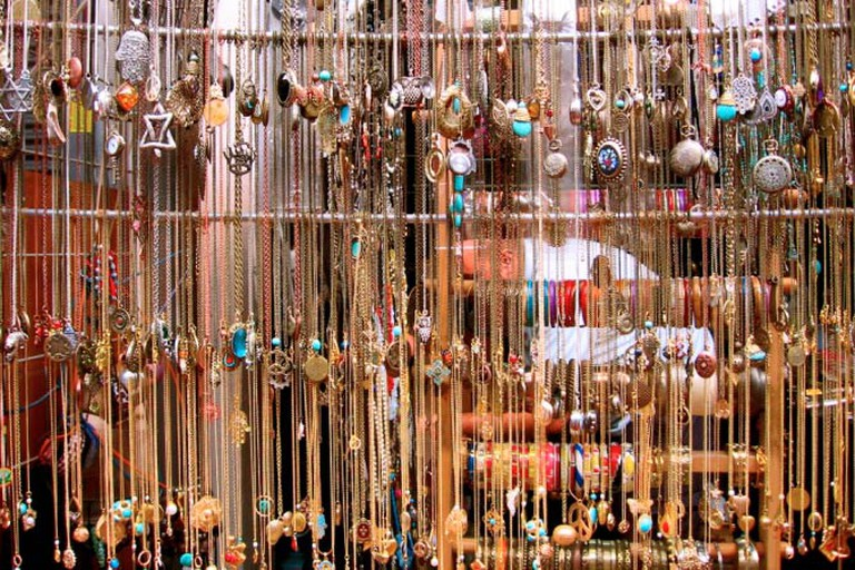 Jewelry at the Shuk