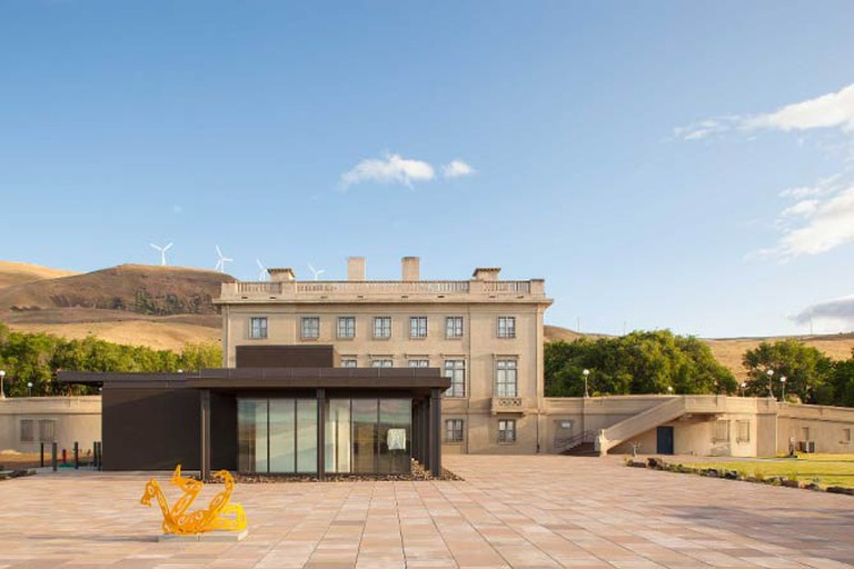 View of Maryhill Museum from the southeast