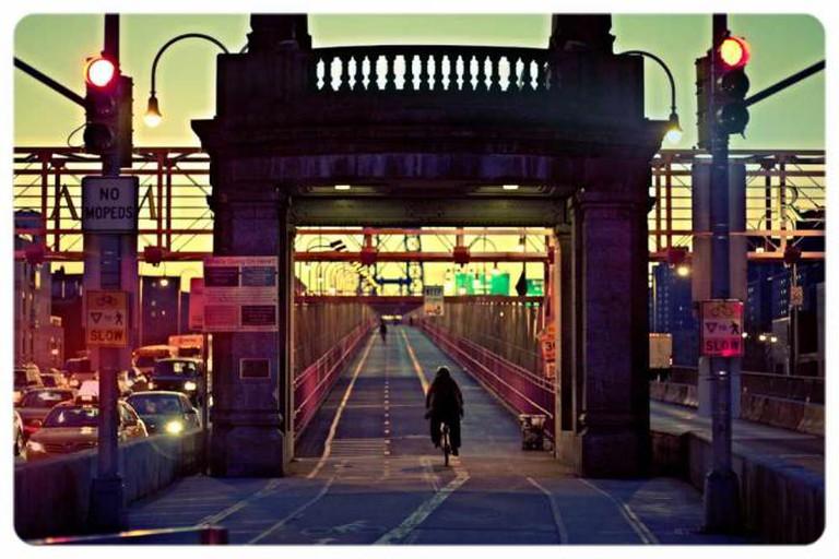 Williamsburg Bridge, Morning Climb