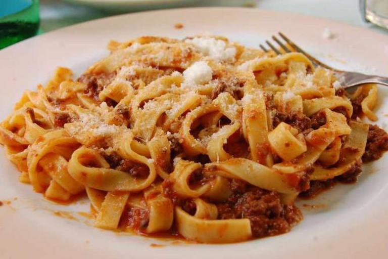 Wild Boar Pasta
