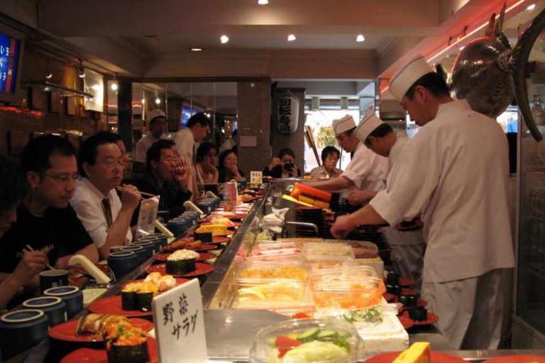 Train sushi