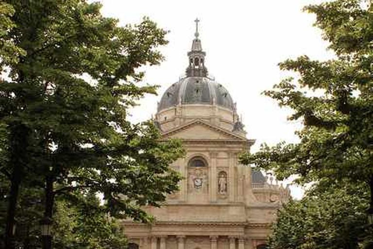 The famous Chapel, symbol of La Sorbonne