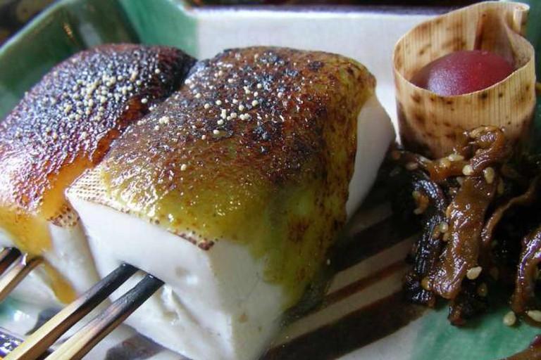 Namafu Dengaku, lunch