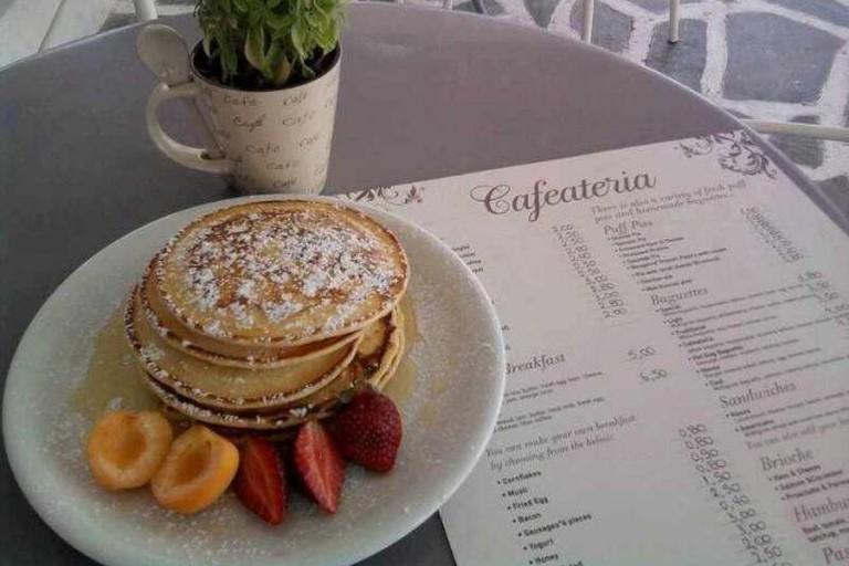 Cafaeteria pancakes