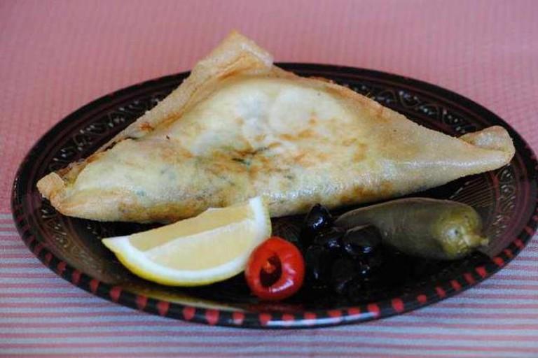 Tunisian classic Brik à l'oeuf