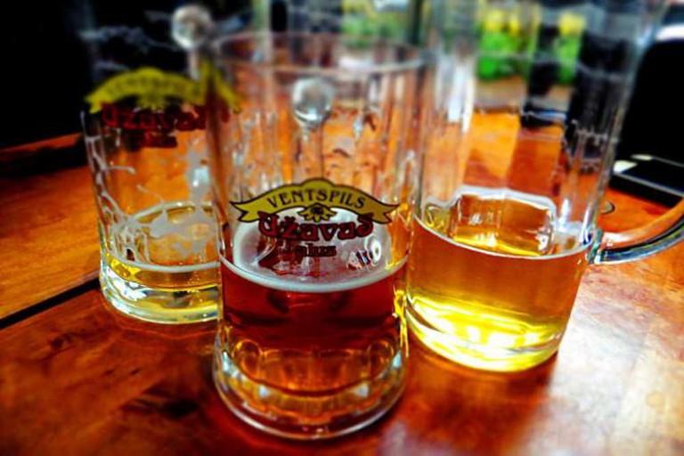 Latvian beers