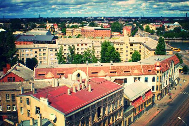 Liepaja from above