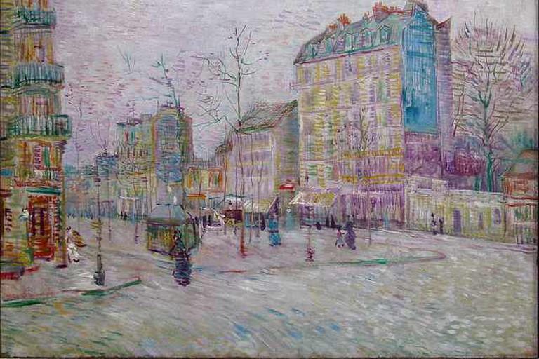 Boulevard de Clichy, Van Gogh