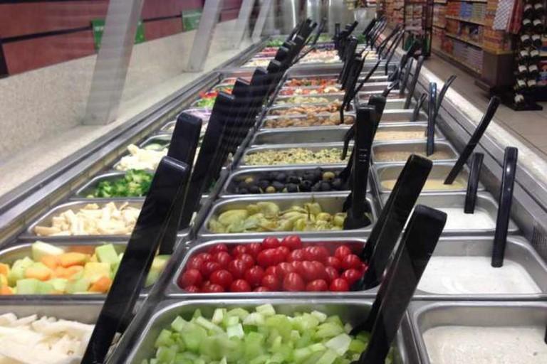 A salad bar