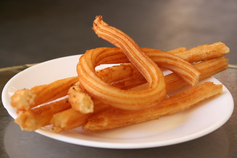Enjoy churros in a grand setting at Café Royalty