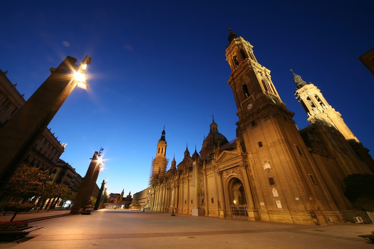 Basílica de Nuestra Señora del Pilar in the Spanish city of Zaragoza