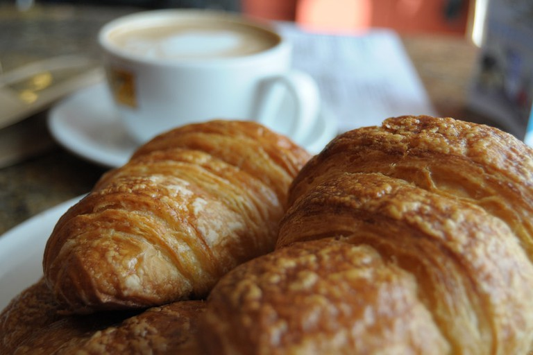 Croissant Cafe Coffee Asuncsion Paraguay