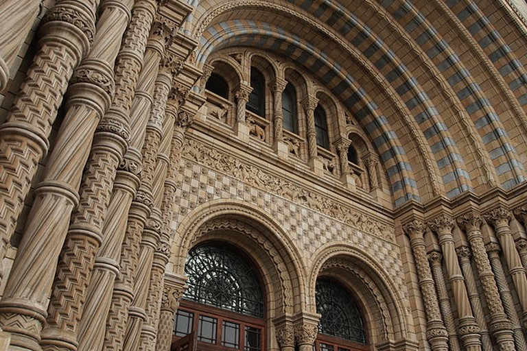 Entrance to the Natural History Museum