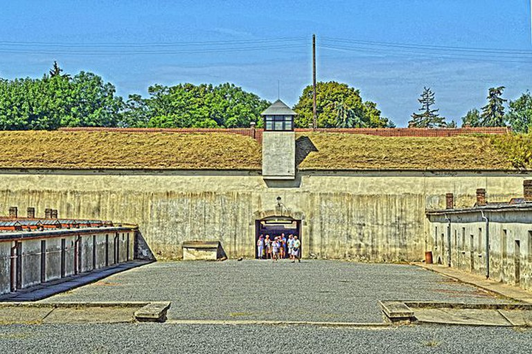 Prison block at Terezin